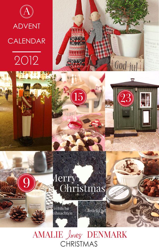 Amalie loves Denmark Weihnachten Adventskalender