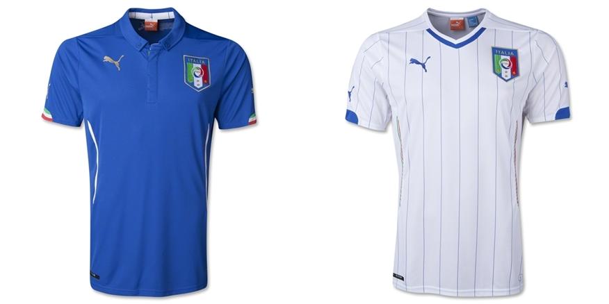 Italy - Jersey Grade Ori Piala Dunia 2014