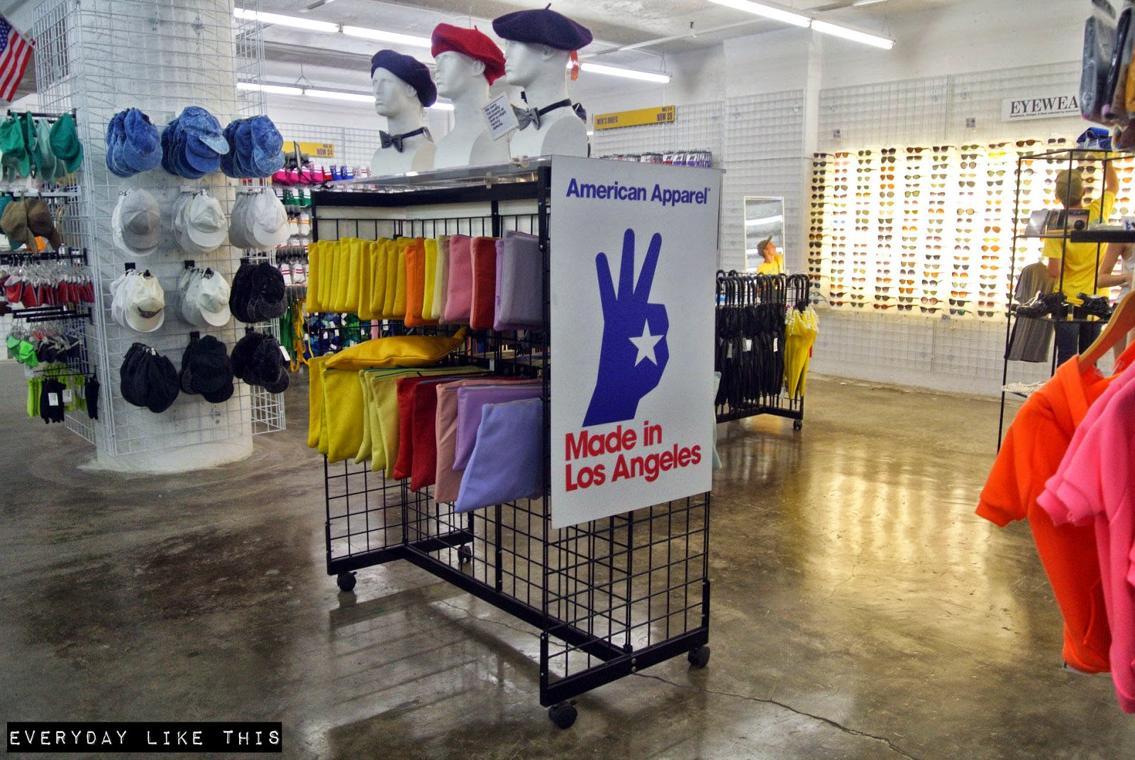 American apparel La downtown everyday like this blogger fashion melbourne