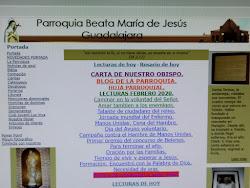 PAGINA WEB PARROQUIA BEATA MARÍA DE JESÚS