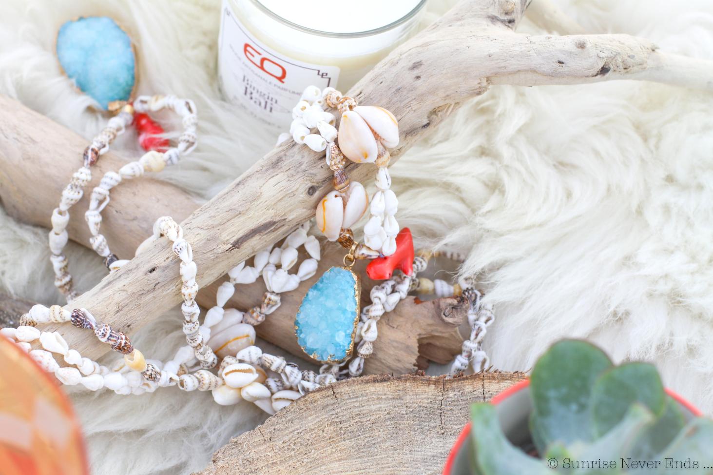 bijoux,concours,instagram,ateliers de sathyne,beach shack hossegor,sunrise never ends,collier,nacre