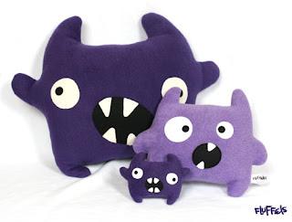 halloween monster sewing pattern