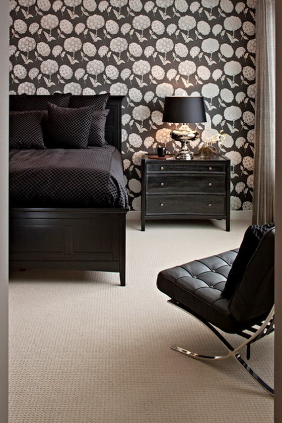 Enjoy Peaceful and Comfortable Night Sleep in Modern Bedroom | Home Decorating Ideas