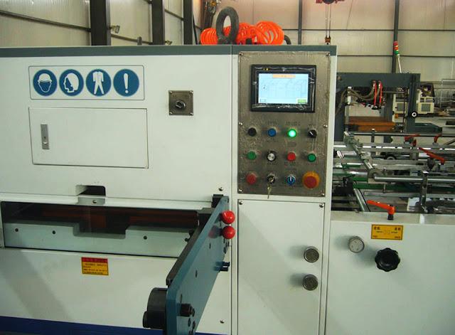 automatic die cutting machine&Stanzmaschine für papier und Ausbildung