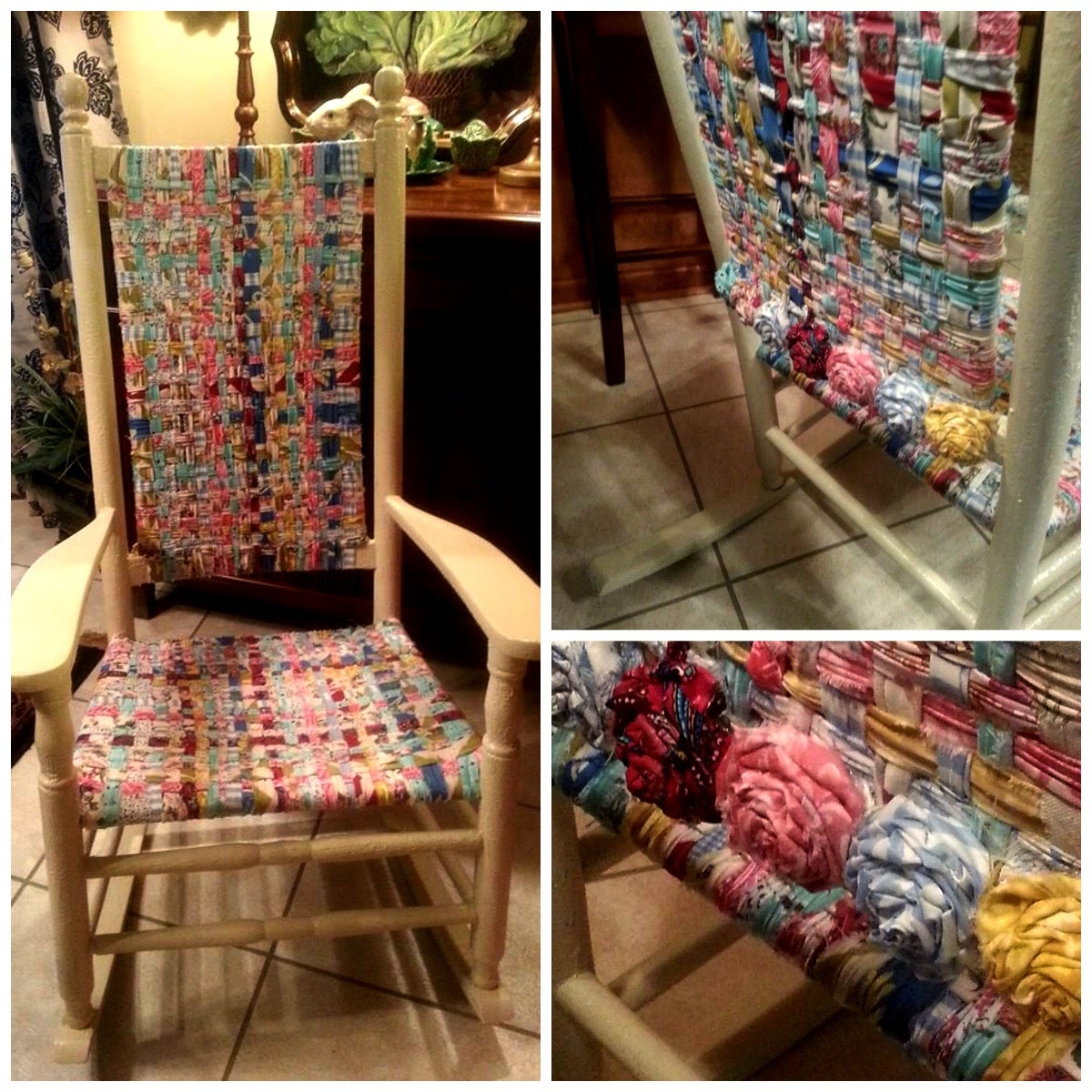 Chair weaving-Angela McInnis