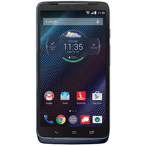 Motorola DROID Turbo in blue
