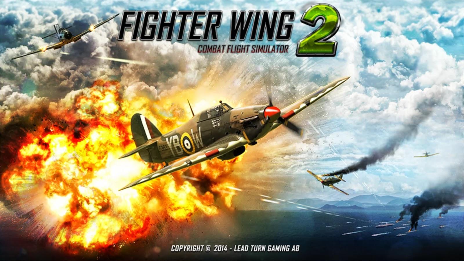 FighterWing 2 Flight Simulator v2.5 Mod [Unlimited Money]