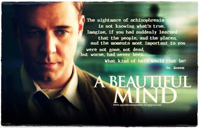 Representations of Mental Illness in the Film A Beautiful