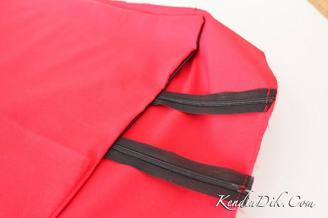 DIY creative skirt ideas, using zippers
