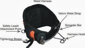 kitesurf kiteboard kitesurfing kiteboarding gear  waist harness