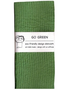 go green dishcloth