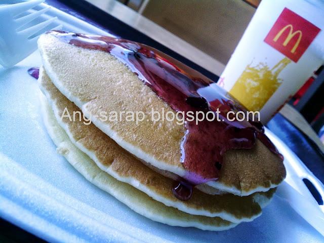 McDonald's Blueberry Pancakes