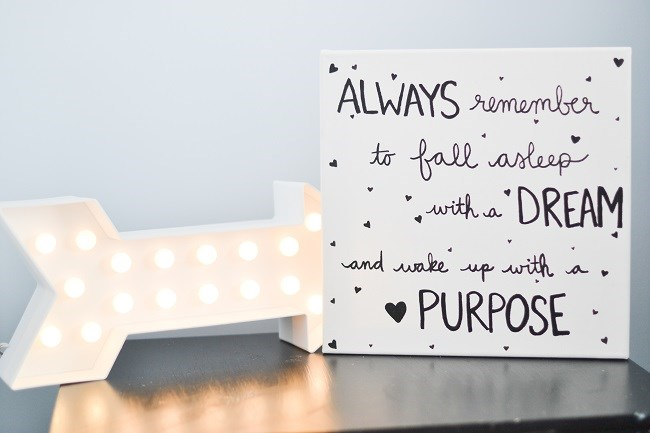 Canvas Wall Art Quotes Diy