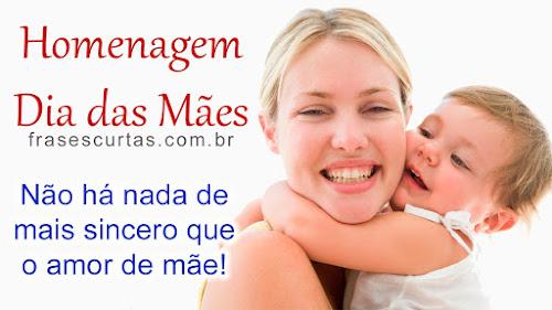 Dia das Mães 2015 - Lindas Frases para as Mães