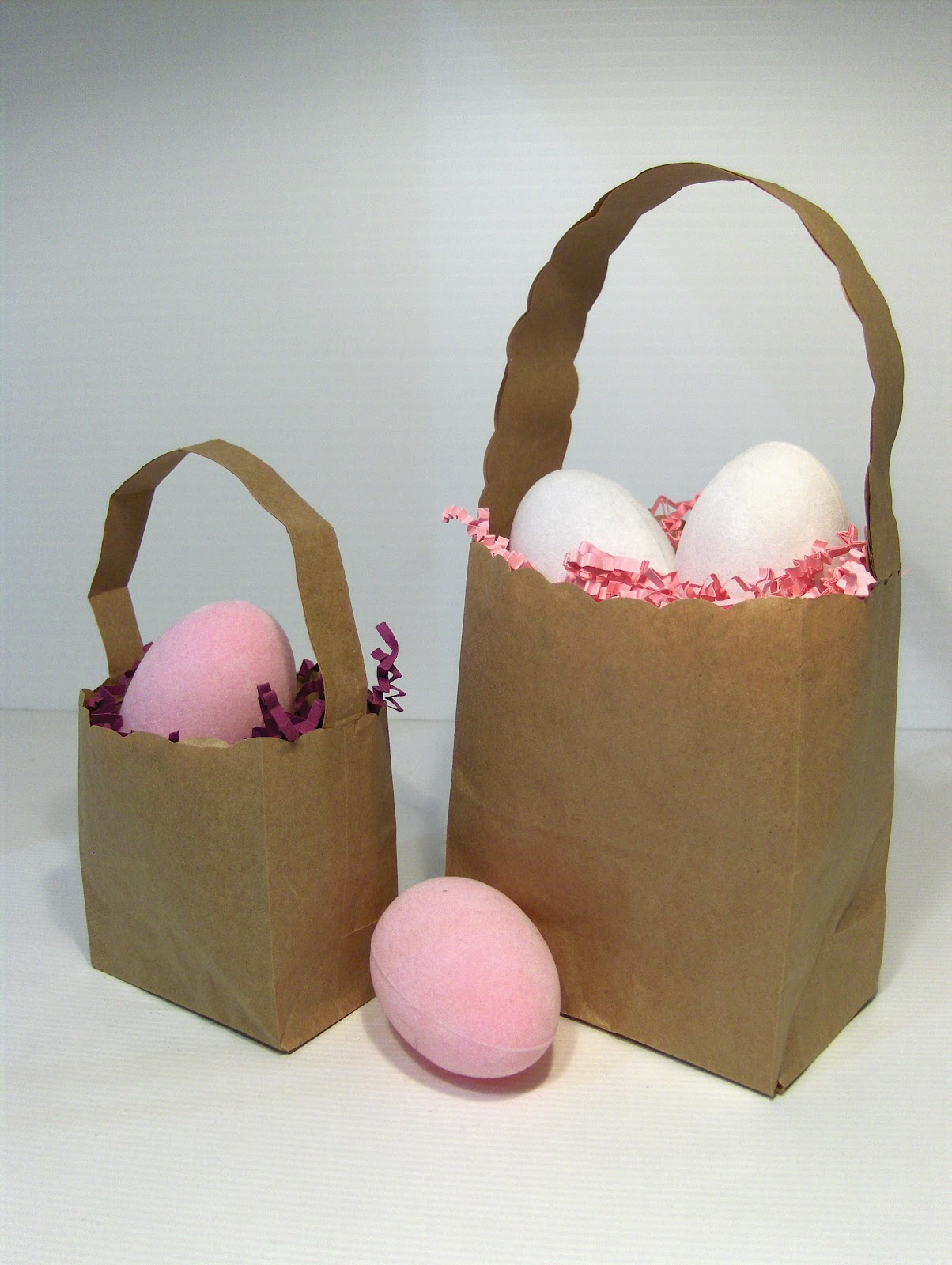 The essential packaging store blog paper bag easter baskets paper bag easter baskets negle Gallery