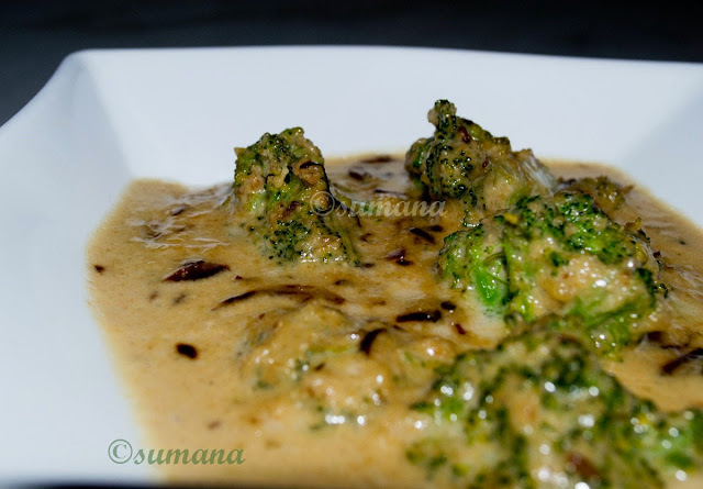 easy recipe to cook broccoli with coconut milk