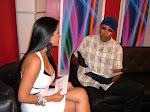 Cuento Bastón conversa con Anabel Alberto en el programa televisivo escándalo del 13.