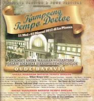 Kampoeng Tempoe Doeloe (JFFF 2012) | 11 Mei-3 Juni