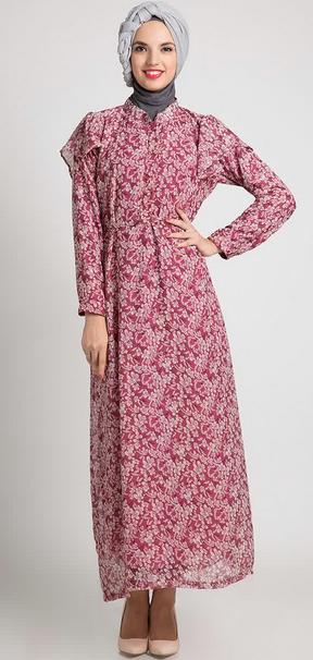 Dress Batik untuk Wanita Muslimah