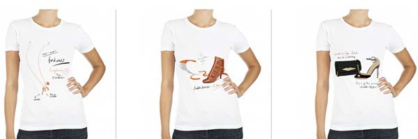 Open Toe T-shirt by Silvana Mariani on Design and Fashion recipes