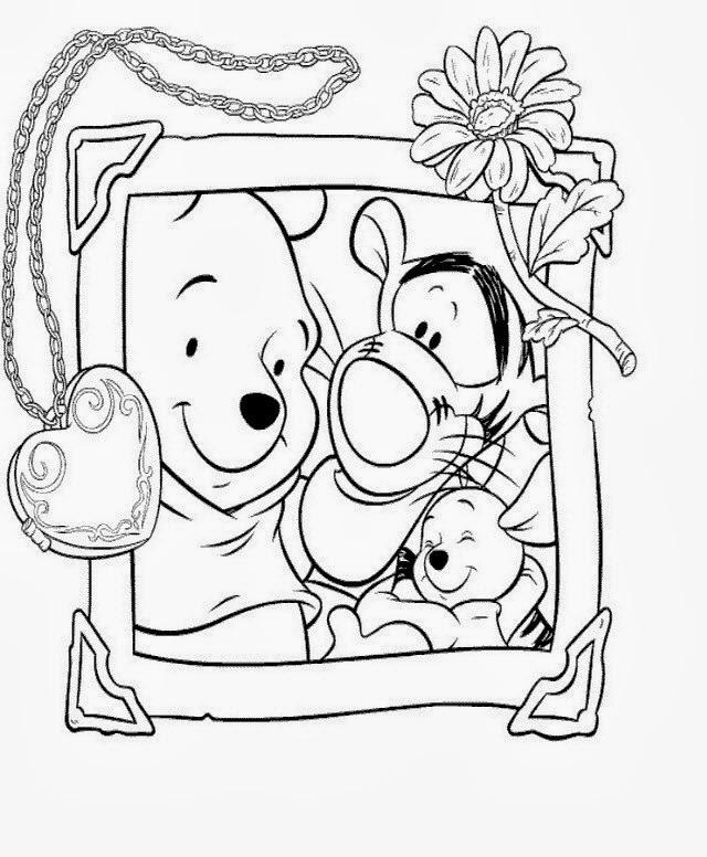 Disegni da colorare di winnie the pooh - Presidenti giorno colorare le pagine da colorare ...