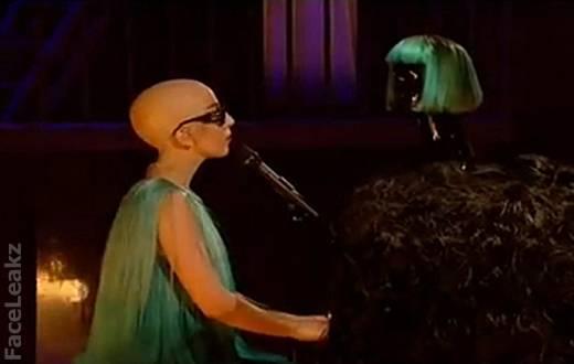 Lady Gaga Botak -- foto -- FaceLeakz