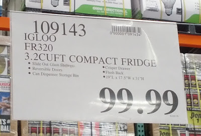 Deal for the Igloo FR320 Compact Fridge at Costco