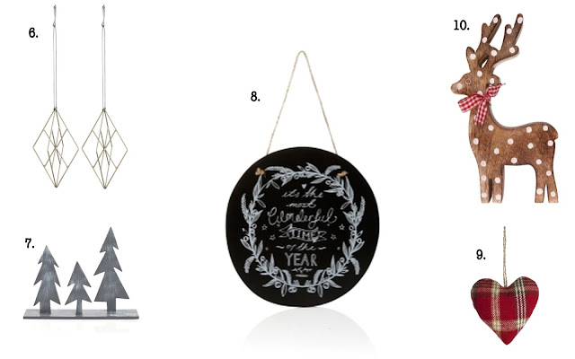 Festive Homeware & Christmas Decorations Collage 2