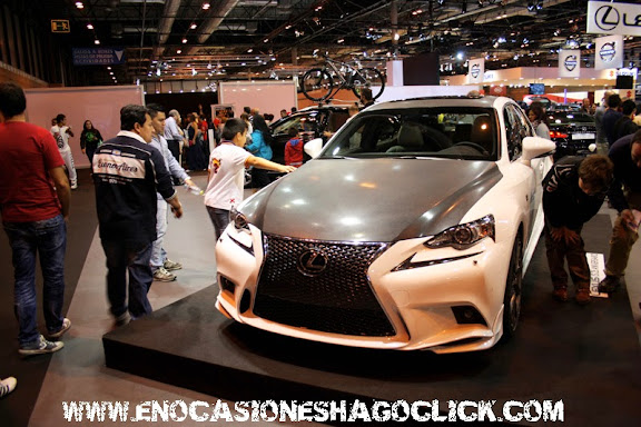 Lexus is 25 aniversario salon del automovil de madrid 2014