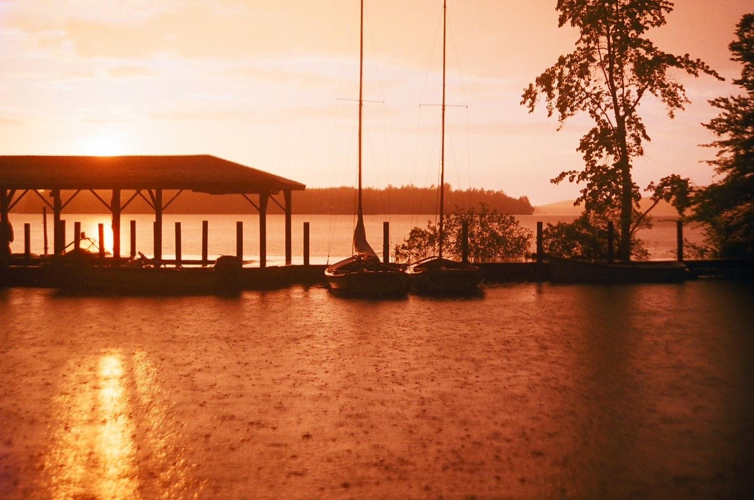 Sunset at Camp Kabeyun on Lake Winnepesaukee, NELP