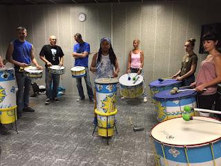 Batucada barcelona cursos alex rosa Ketubara taller de percusión