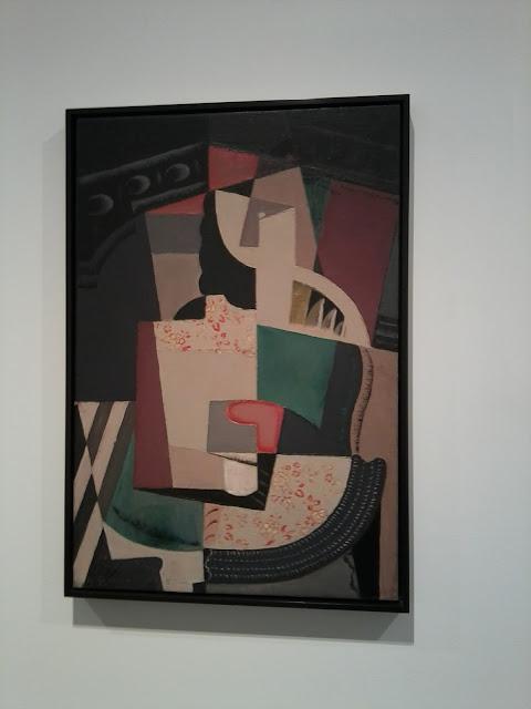 María Blanchard, Museo Reina Sofía, Cubismo, Mujer sentada,