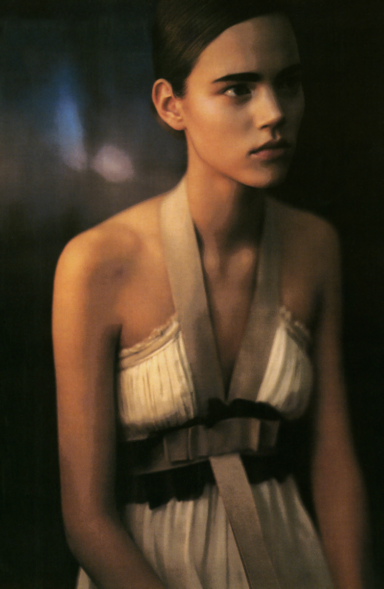 Freja Beha in Over - minimal over - refined / Vogue Italia April 2006 (photography: Paolo Roversi, styling: Edward Enninful) via fashioned by love british fashion blog