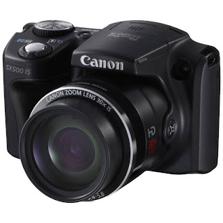 Canon PowerShot SX500 IS - 16 MP