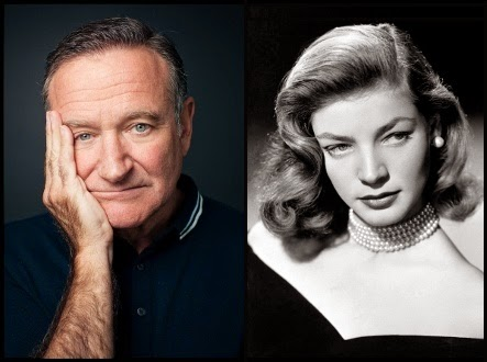 Robin Williams y Lauren Bacall, fallecidos en 2014