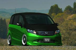 Honda Freed Easy to Modif