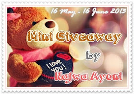 Mini Giveaway by Najwa Ayuni