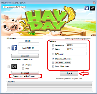 Hay Day Hack, Cheat ver.5.5 [2013] : Hack Game Download