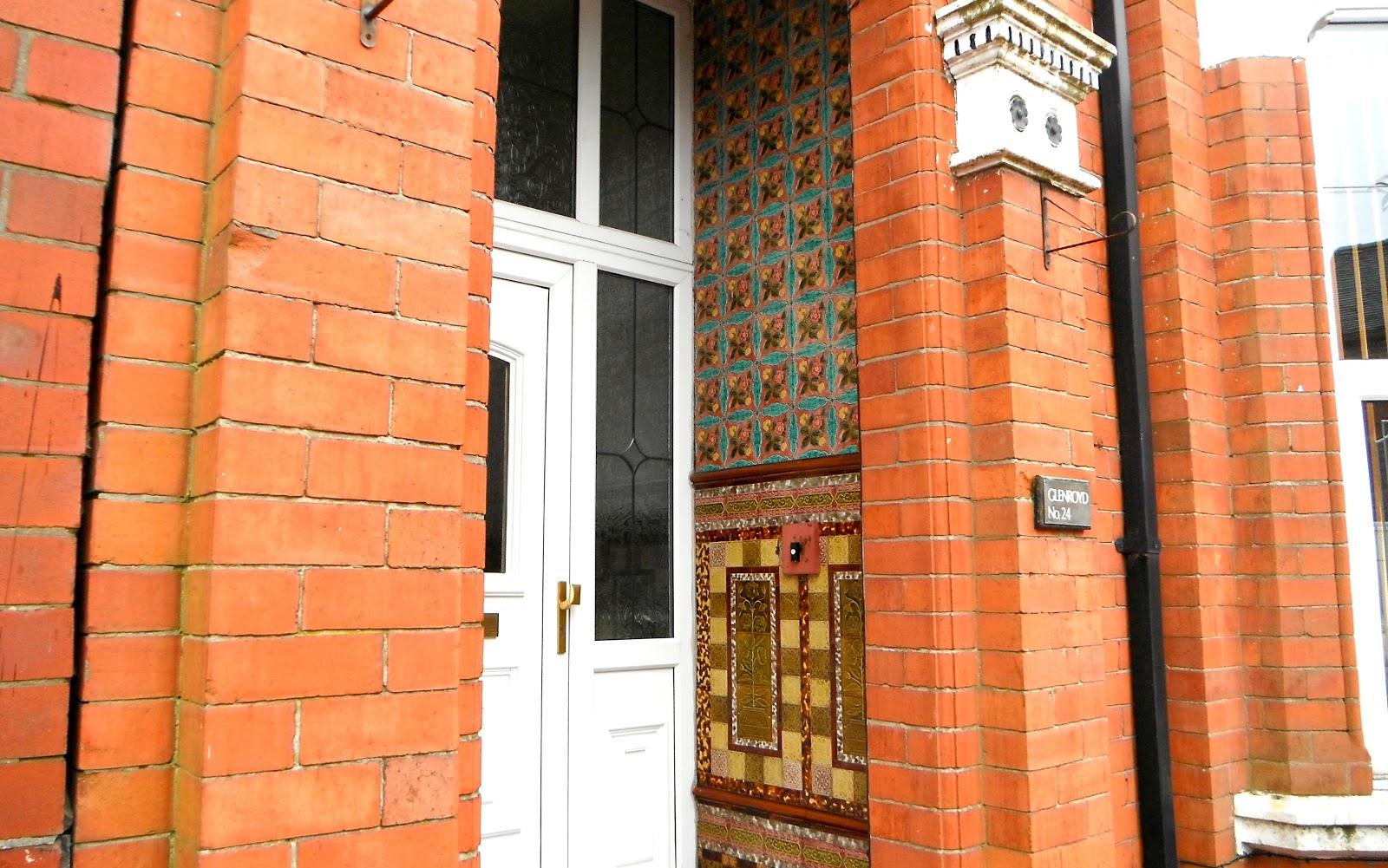 Porch of Glenroyd, Stanley St, Tunstall