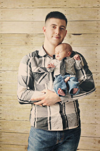 father son photography, newborn photography, baby boy, growing gracie