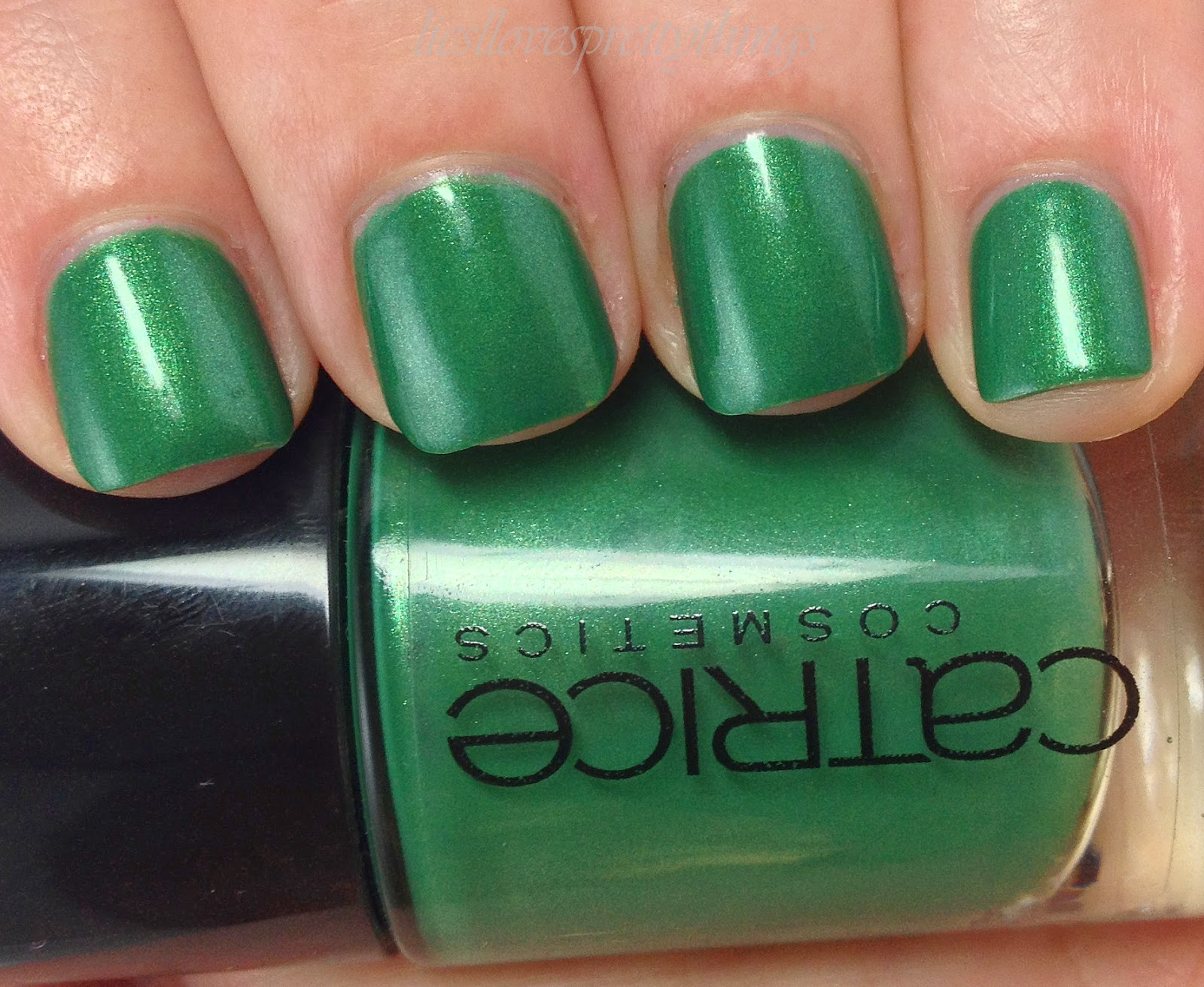 Catrice King Of Greens swatch