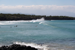 Surf at Hapuna Beach, Kohala Coast