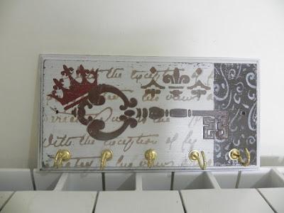 Gabriela albo regalos artesanales cuadritos y portallaves for Regalos muy romanticos