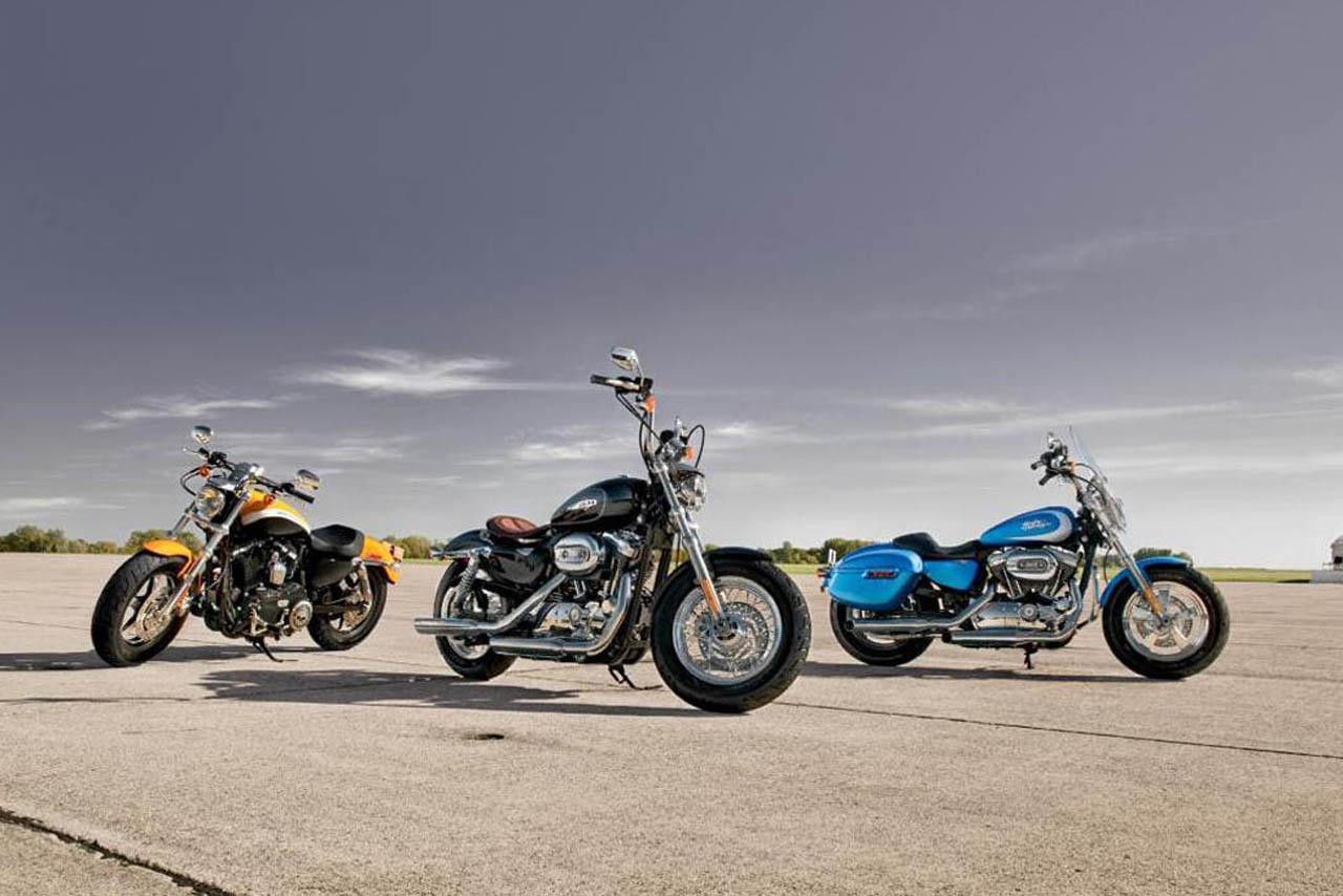 Harley Davidson Sportster 1200 Custom   Harley Davidson Wallpaper