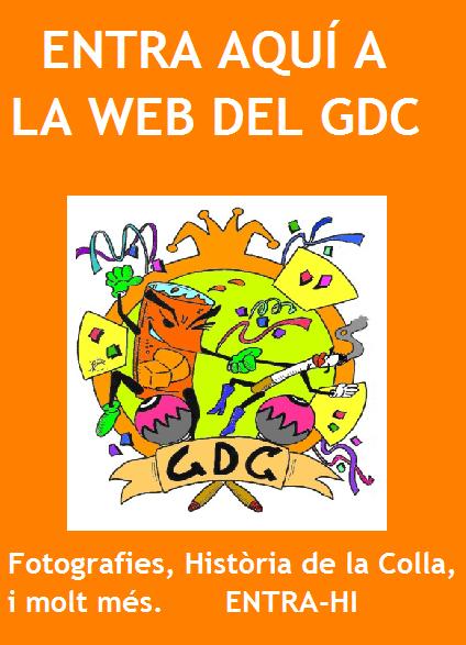 clica i entra a la web del gdc