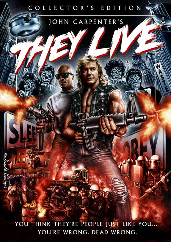 They Live 1988 Poster Fashion and Action: TH...