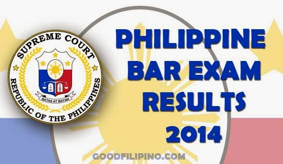 BAR EXAM | 2014 results out today (March 26, 2015)