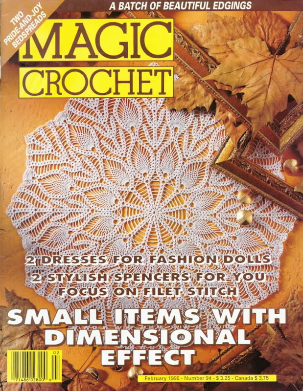 TODAS LAS REVISTAS DE MANUALIDADES GRATIS: Magic Crochet