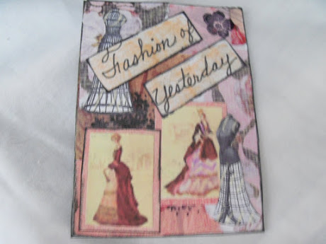 Fashion Artist Trading Card 2/4