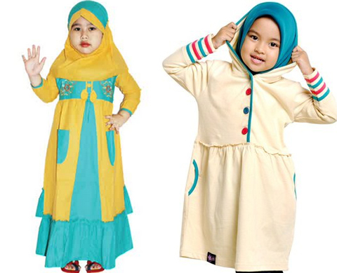 model busana muslim anak perempuan